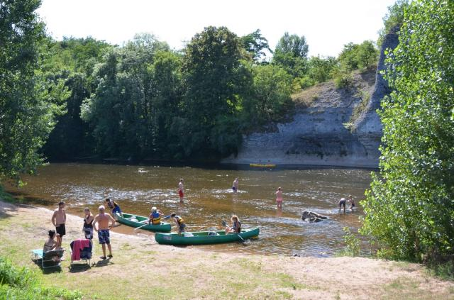 Photo Camping : le rocher de la granelle - le bugue en dordogne 2