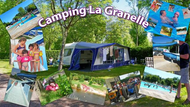 Photo Camping : le rocher de la granelle - le bugue en dordogne 1