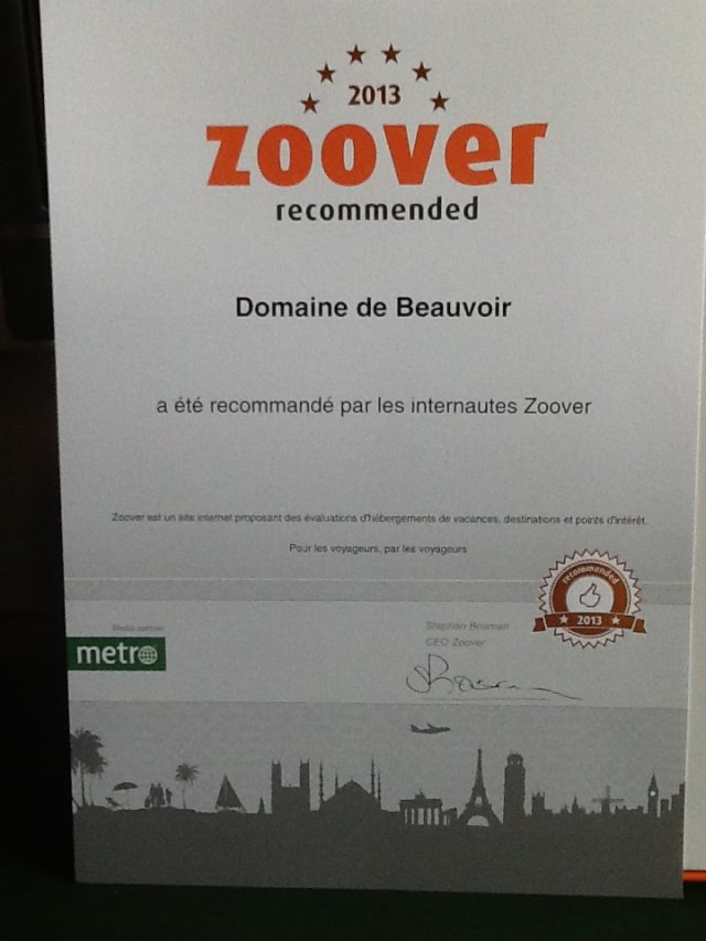 Zoover 2013
