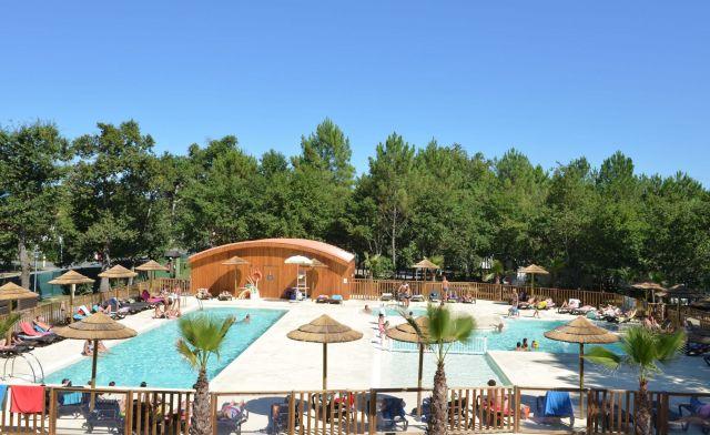 Camping lou pignada camping ondres landes 40 for Piscine basse goulaine ouverture