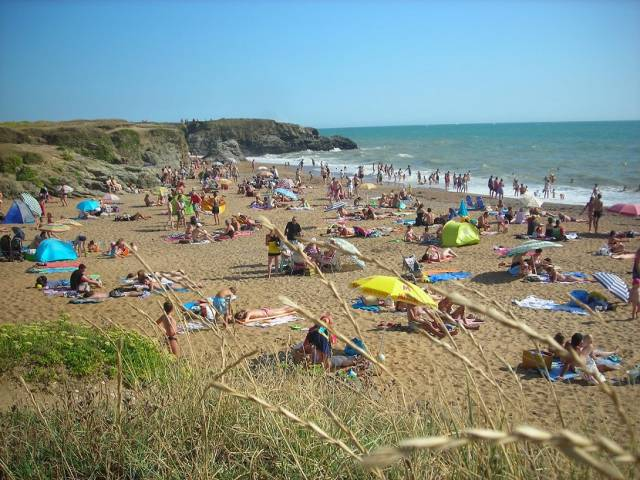 plage 100m camping